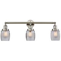 Innovations Lighting 205-PN-G302-LED Colton LED 32 inch Polished Nickel Bath Vanity Light Wall Light Franklin Restoration