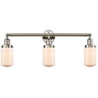 Innovations Lighting 205-PN-G311-LED Dover LED 31 inch Polished Nickel Bath Vanity Light Wall Light Franklin Restoration