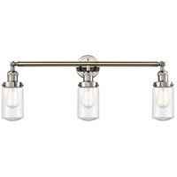Innovations Lighting 205-PN-G314-LED Dover LED 31 inch Polished Nickel Bath Vanity Light Wall Light Franklin Restoration