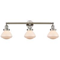 Innovations Lighting 205-PN-G321-LED Olean LED 31 inch Polished Nickel Bath Vanity Light Wall Light Franklin Restoration