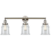 Innovations Lighting 205-PN-S-G182-LED Canton LED 30 inch Polished Nickel Bathroom Fixture Wall Light Adjustable