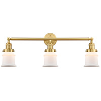Satin Gold Canton Bathroom Vanity Lights