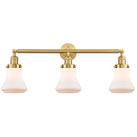 Satin Gold Bellmont Bathroom Vanity Lights