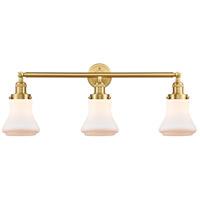 Innovations Lighting 205-SG-G191 Bellmont 3 Light 30 inch Satin Gold Bath Vanity Light Wall Light Franklin Restoration