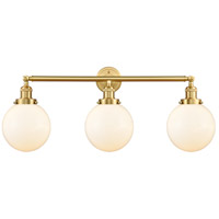 Satin Gold Beacon Bathroom Vanity Lights