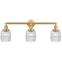 Satin Gold Colton Bathroom Vanity Lights