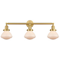 Satin Gold Olean Bathroom Vanity Lights