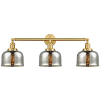 Innovations Lighting 205-SG-G78-LED Large Bell LED 32 inch Satin Gold Bath Vanity Light Wall Light