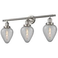 Innovations Lighting 205-SN-G165-LED Geneseo LED 32 inch Satin Nickel Bath Vanity Light Wall Light Franklin Restoration