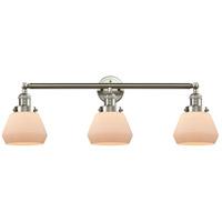 Innovations Lighting 205-SN-S-G171-LED Fulton LED 30 inch Brushed Satin Nickel Bathroom Fixture Wall Light Adjustable