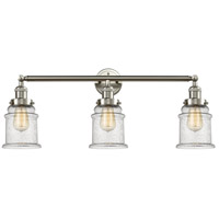 Innovations Lighting 205-SN-S-G184 Canton 3 Light 30 inch Brushed Satin Nickel Bathroom Fixture Wall Light Adjustable