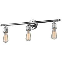 Innovations Lighting 205NH-PC-LED Bare Bulb LED 30 inch Polished Chrome Bathroom Fixture Wall Light