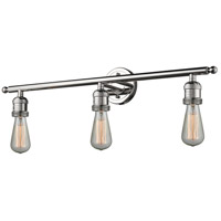 Innovations Lighting 205NH-PN-LED Bare Bulb LED 30 inch Polished Nickel Bathroom Fixture Wall Light