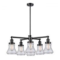 Innovations Lighting 207-6CR-OB-G194 Bellmont 6 Light 30 inch Oil Rubbed Bronze Chandelier Ceiling Light Franklin Restoration