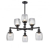 Oil Rubbed Bronze Glass Chandeliers