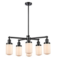 Innovations Lighting 207-6CR-OB-G311 Dover 6 Light 27 inch Oil Rubbed Bronze Chandelier Ceiling Light Franklin Restoration