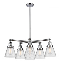 Steel Small Cone Chandeliers