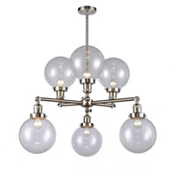 Glass Large Beacon Chandeliers