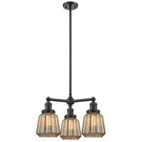 Innovations Lighting 207-OB-G146-LED Chatham LED 24 inch Oil Rubbed Bronze Chandelier Ceiling Light