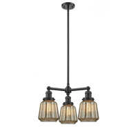Chatham 3 Light 24 inch Oiled Rubbed Bronze Chandelier Ceiling Light