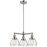 Innovations Lighting 207-PC-G172-LED Fulton LED 22 inch Polished Chrome Chandelier Ceiling Light Franklin Restoration