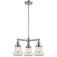 Innovations Lighting 207-PC-G192-LED Bellmont LED 18 inch Polished Chrome Chandelier Ceiling Light Franklin Restoration
