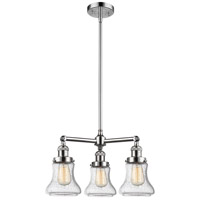 Innovations Lighting 207-PC-G194-LED Bellmont LED 18 inch Polished Chrome Chandelier Ceiling Light Franklin Restoration