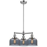 Innovations Lighting 207-PC-G73-LED Large Bell LED 22 inch Polished Chrome Chandelier Ceiling Light