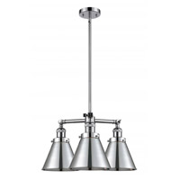 Polished Chrome Cast Brass Appalachian Chandeliers