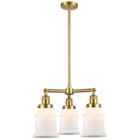 Satin Gold Steel Canton Chandeliers