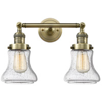 Innovations Lighting 208-AB-G194-LED Bellmont LED 17 inch Antique Brass Bath Vanity Light Wall Light Franklin Restoration