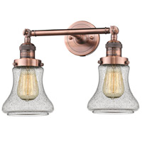 Innovations Lighting 208-AC-G194-LED Bellmont LED 17 inch Antique Copper Bathroom Fixture Wall Light