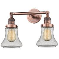 Innovations Lighting 208-AC-G194-LED Bellmont LED 17 inch Antique Copper Bath Vanity Light Wall Light Franklin Restoration