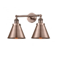 Antique Copper Appalachian Bathroom Vanity Lights