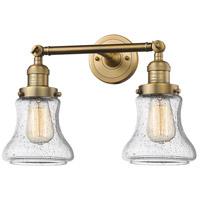 Innovations Lighting 208-BB-G194-LED Bellmont LED 17 inch Brushed Brass Bathroom Fixture Wall Light