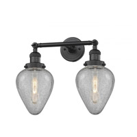 Matte Black Geneseo Bathroom Vanity Lights