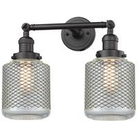 Innovations Lighting 208-OB-G262-LED Stanton LED 16 inch Oil Rubbed Bronze Bathroom Fixture Wall Light