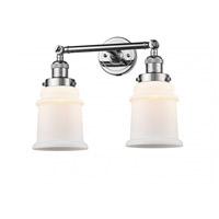 Innovations Lighting 208-PC-G181 Canton 2 Light 17 inch Polished Chrome Bath Vanity Light Wall Light Franklin Restoration