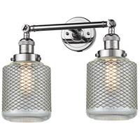 Innovations Lighting 208-PC-G262-LED Stanton LED 16 inch Polished Chrome Bathroom Fixture Wall Light