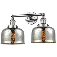 Innovations Lighting 208-PC-G78-LED Large Bell LED 18 inch Polished Chrome Bathroom Fixture Wall Light