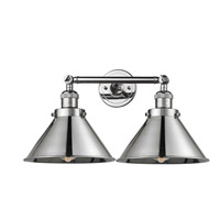 Polished Chrome Briarcliff Bathroom Vanity Lights