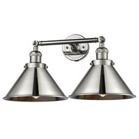 Polished Nickel Briarcliff Bathroom Vanity Lights