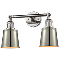Polished Nickel Addison Bathroom Vanity Lights