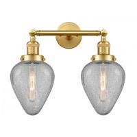 Innovations Lighting 208-SG-G165-LED Geneseo LED 17 inch Satin Gold Bath Vanity Light Wall Light