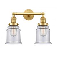 Innovations Lighting 208-SG-G182-LED Canton LED 17 inch Satin Gold Bath Vanity Light Wall Light