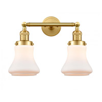 Innovations Lighting 208-SG-G191-LED Bellmont LED 17 inch Satin Gold Bath Vanity Light Wall Light