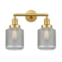 Innovations Lighting 208-SG-G262-LED Stanton LED 16 inch Satin Gold Bath Vanity Light Wall Light