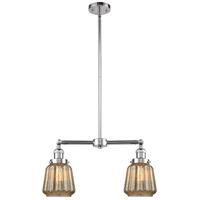 Innovations Lighting 209-PC-G146-LED Chatham LED 21 inch Polished Chrome Chandelier Ceiling Light