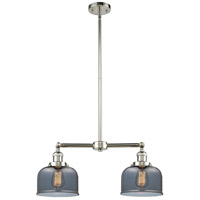 Innovations Lighting 209-PN-G73-LED Large Bell LED 21 inch Polished Nickel Chandelier Ceiling Light