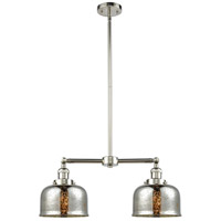 Innovations Lighting 209-PN-G78-LED Large Bell LED 24 inch Polished Nickel Chandelier Ceiling Light